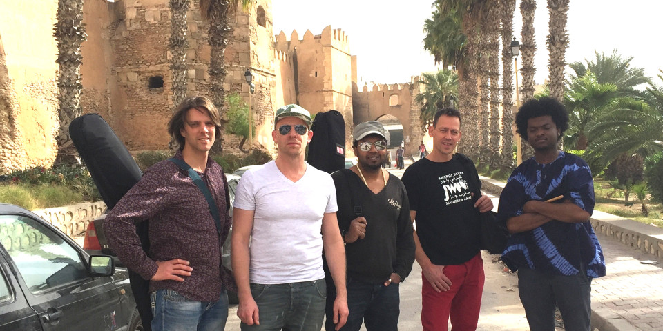 JWO band on tour